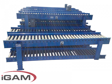 Double - Stacked - Roller - Conveyers