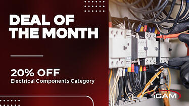 20% off electrical components sale