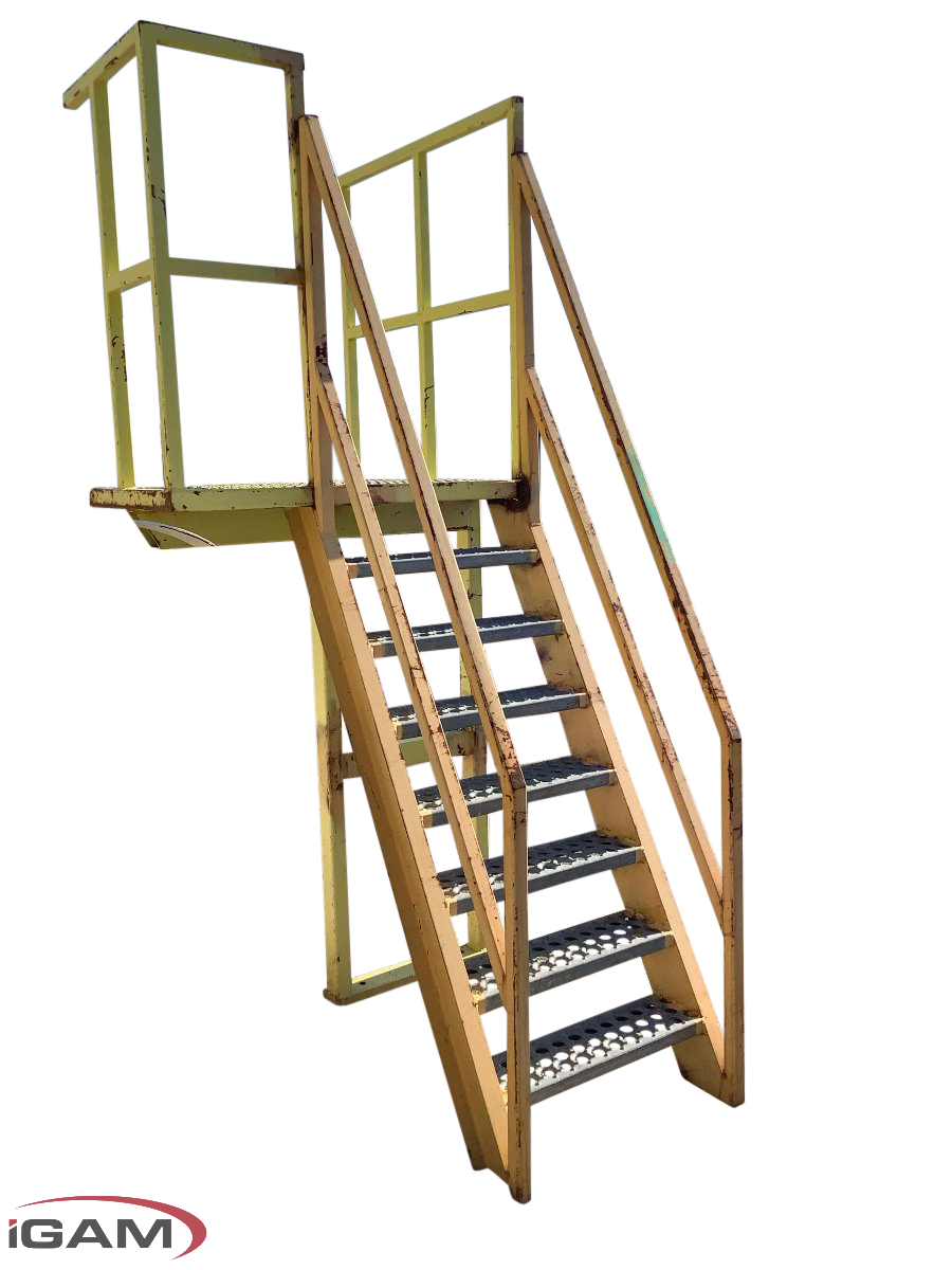 platform with ladder access structure